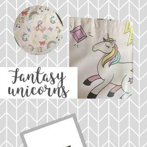 Fantasy unicorns Poly mailers 10x13